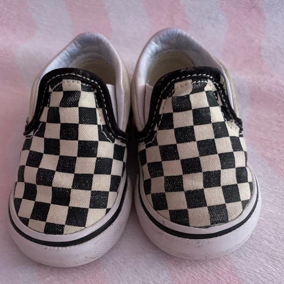 Baby Size 2 Checkered Vans   Poshmark